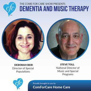 11/30/16: Dr. Debbie Bier and Steve Toll Discuss Dementia and Music Therapy on the Come For Care Radio Show Nicol Rupolo ComForCare Stamford
