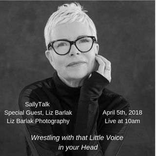 Wrestling with That Little Voice - Guest Liz Barlak