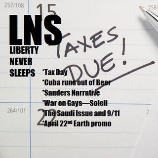 Liberty Never Sleeps 04/18/16 Show