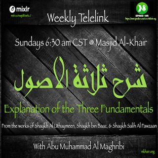 Abu Muhammed 3 Principles