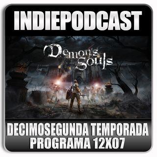 Indiepodcast 12x07 'Demon Souls PS5, Mortal Kombar Aftermath y condiciones laborales en los videojuegos españoles'