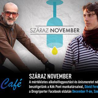 Száraz november - Drogriporter Café