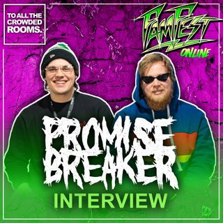 Interview with Tyler Beam & Jake Lepley of Promise Breaker - Famfest Online 2021