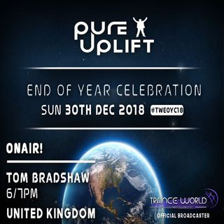 Tom Bradshaw - Pure Uplift pres. End Of Year Celebration 2018  [December 2018]