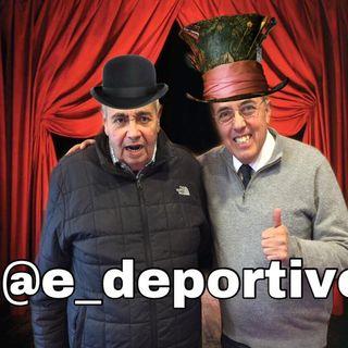 Que dijeron Pituca y Petaca, Viruta y Capulina? pues no, son el Rudo y Pepe en Espacio Deportivo de la Tarde 16 de Noviembre 2018
