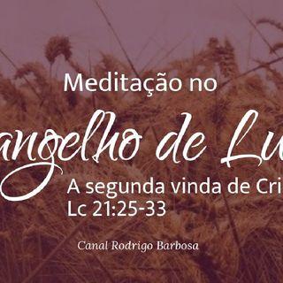 Episódio 116 - Lucas 21:25-33 - A Segunda Vinda De Cristo - Rodrigo Barbosa