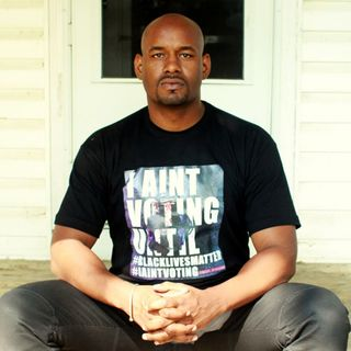 9/24/20 Hawk Newsome, Chairperson of Black Lives Matter Greater NY