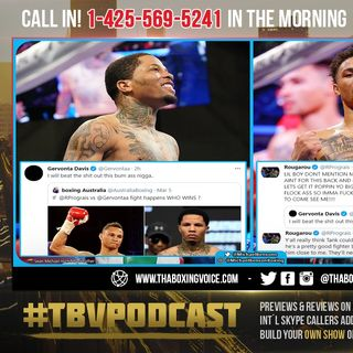 "☎️ Gervonta Davis vs Regis Prograis🔥 ""I Will Beat The S*** Out This BUM A$$ N****..😱"""