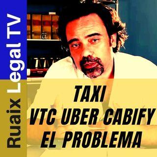 TAXI | VTC | Uber | Cabify | Huelga de Taxis | Conflicto| Barcelona | Madrid | Valencia | Elite Taxi