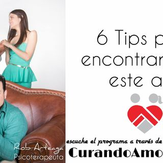 106 - 6 Tips para encontrar amor este año