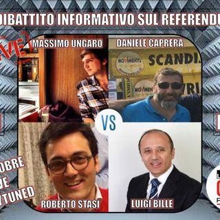 Dibattito sul Referendum italiano del 4 Dicembre.