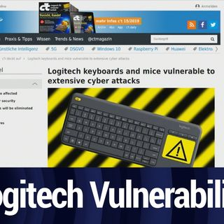 Logitech Keyboard and Mice Vulnerabilities | TWiT Bits
