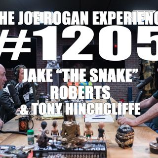 "#1205 - Jake ""The Snake"" Roberts & Tony Hinchcliffe"
