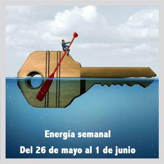 Energía de la semana 22 Año 2019: Del 26/05 hasta el 01/06/2019