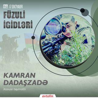 Kamran Dadaşzadə | 17 oktyabr - Füzuli şəhərinin azad olunması