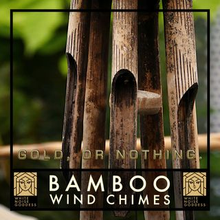 Bamboo Wind Chimes | White Noise | ASMR & Relaxation