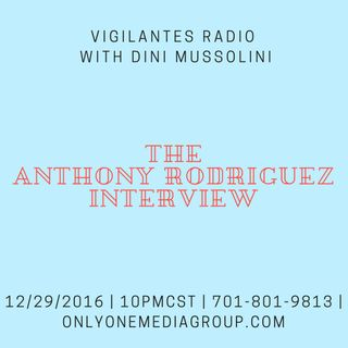 The Anthony Rodriguez Interview.