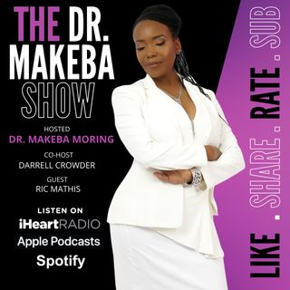 REBROADCAST:: The Dr. Makeba Show, Hosted by Dr. Makeba Moring (with co-host, Darrell Crowder) : sG: Ric Mathis