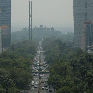 Se mantiene la mala calidad de aire en la CDMX