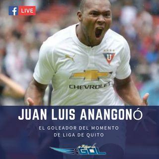 Juan Luis Anangonó, el goleador de la LDUQ