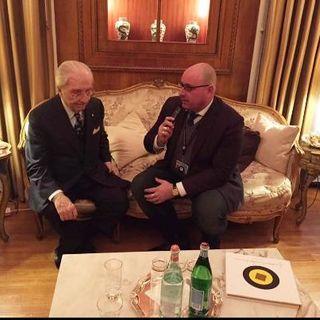 Il Maestro Gualtiero Marchesi e il regista  Maurizio Gigola del film sulla grande vita dello chef più conosciuto al mondo