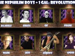 TMR 214 : Nephilim Boys Plus One Gal : Revolutions !