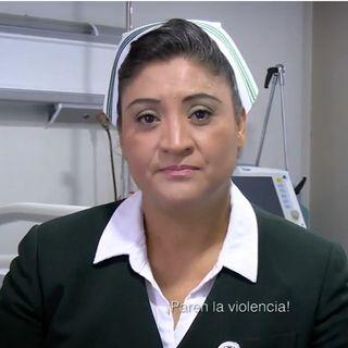Paren la violencia, pide Jefa de enfermeras Fabiana