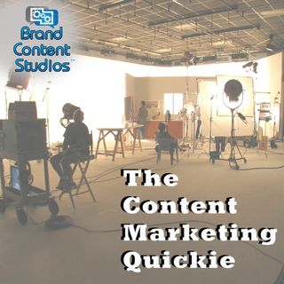 Content Marketing Quickie - Content Marketing World Edition