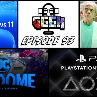 Episode 93 (Rick and Morty, DC Fandome, PlayStation Showcase, and more)