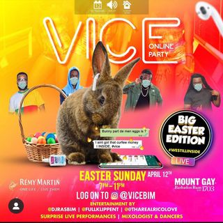 Fullklipp Ent Live @ Vice  (Easter Sunday Edition) IG Party PT 1