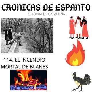 114. El incendio mortal de Blanes.