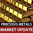 Gold Down In Dollars, Up In Euros