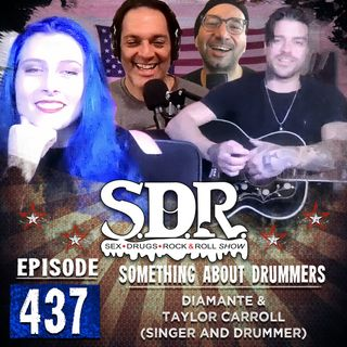 Diamante And Taylor Carroll (Singer And Drummer) - Something About Drummers