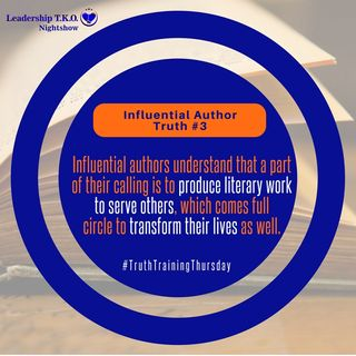 Influential Authors Truth #3 | Lakeisha McKnight