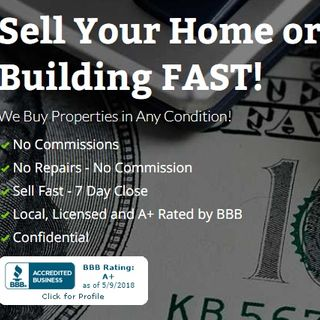 Sell Your Home or Building FAST! We Buy Properties in Any Condition!