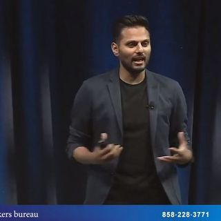 Keynote Speaker Jay Shetty • Presented by SpeakInc