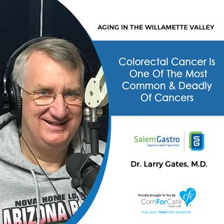 4/16/19: Dr. Larry Gates with Salem Gastroenterology Consultants | Colorectal cancer is one of the most common & deadly of cancers.