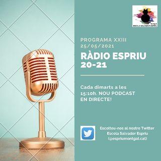 RÀDIO ESPRIU. Programa XXIII