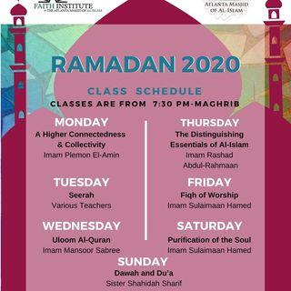 Ramadan Classes 2020