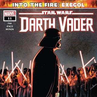 Vader discovers Palpatines plan on Exegol (Vader #11)