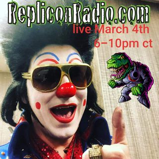 Clownvis  3/4/19 - Replicon Radio
