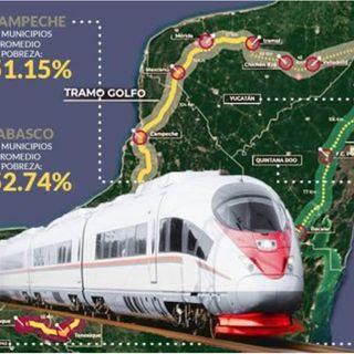 El 40 % del trayecto del tren maya será eléctrico, informo el Fondo Nacional de Turismo