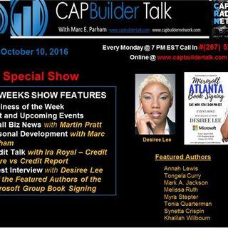 CAPBuilder Talk w/Marc Parham -  Desiree Lee and Featured Authors