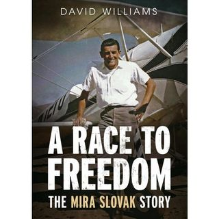 "David Williams, Author of ""A Race to Freedom: The Mira Slovak Story"""