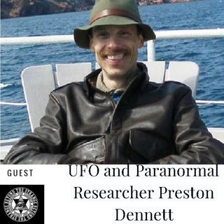 UFO  Paranormal Researcher Preston Dennett Sun Feb 10th