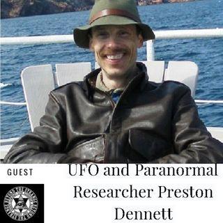 UFO  Paranormal Researcher Preston Dennett Sun Feb 10th