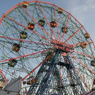 Momithee used to take us to Coney Island
