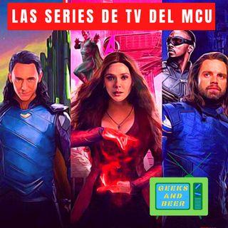 # geeks and beers - Series de Tv del MCU