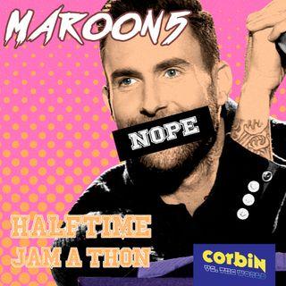 CVTW 021: Corbin vs. The Maroon 5 Halftime Jam-a-thon