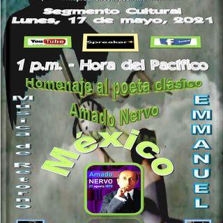 Homenaje al poeta clásico mexicano, Amado Nervo - Música con el cantante Emmanuel * México.